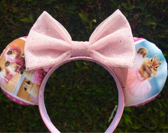 Ballerina Critters Mouse Ears