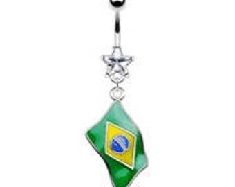 Brazil Belly Ring