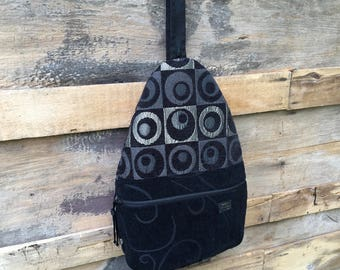 Fabric Backpack Purse