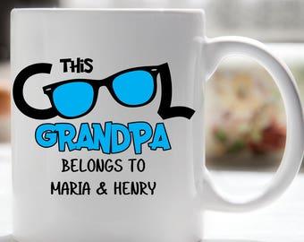 Grandpa Coffee Mug, Grandpa Mug, Cool Grandpa, Grandparents Day, New Grandpa
