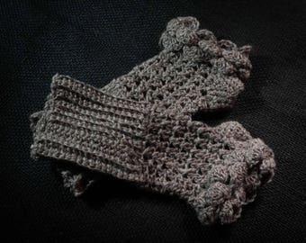 Wool Crochet Gloves