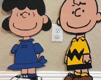 1 Charlie Brown cutout/prop