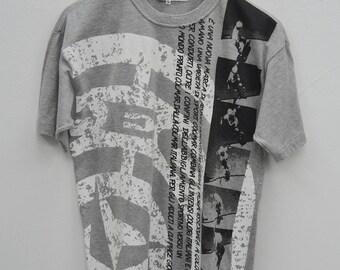 COLMAR ITALY Shirt Vintage 90's Colmar Italy Skateboard Tee T Shirt Size M