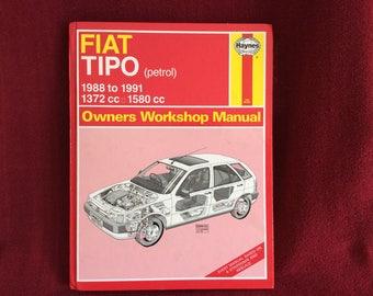 Haynes Owners Workshop Manual Fiat Tipo (petrol) #1625
