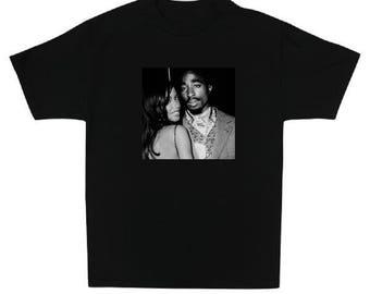 Aaliyah x 2pac T-Shirt