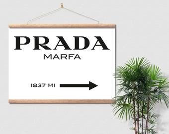 Prada Marfa Gossip Girl Canvas Ready To Hang
