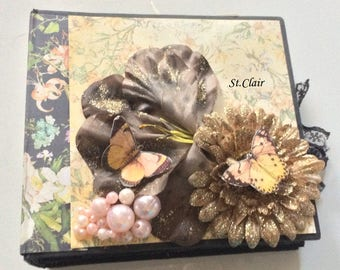 Mini album, Scrapbook album, Album,photo album, Journal, Paper Journal, Scrapbook, Mini Scrapbook, Diary