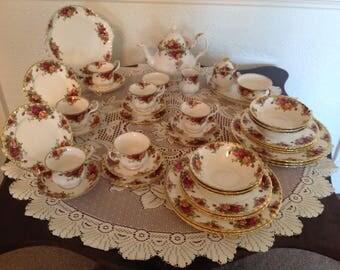 Royal Albert tea set 44 piece