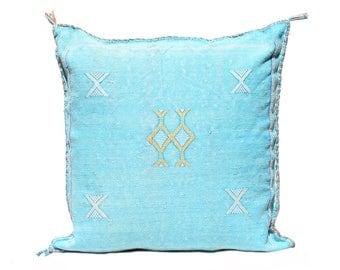 Morrocan Sabra Pillow - Blue
