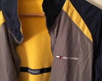 Vintage Tommy Hilfiger Athletics reversible jacket