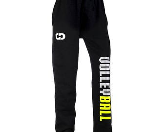 Volleyball Two-Color Sweatpants - 2 Colors, Free Shipping! Great Volleyball Gift!