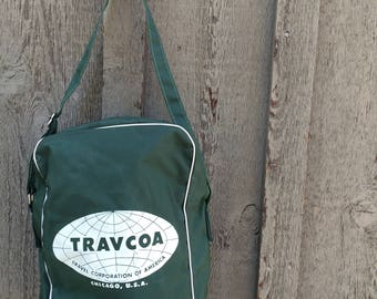 Super travel bag from Travcoa, travel corporation.