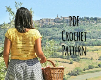 The Etna Top Crochet Pattern
