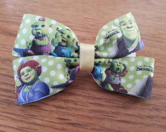 Shrek hair bow