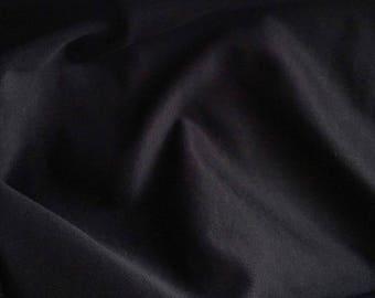 Canvas loom poly-viscose satin Midnight Blue luxury
