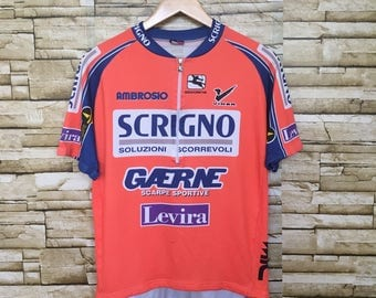 Vintage Giordana Cycling Jersey Made in Italy