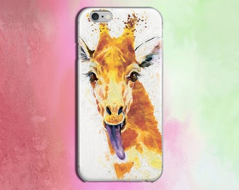 Animal Case 7 Phone iPhone Case 7 Plus phone iPhone Hard Case iPhone Phone 6 Full Wrap 6s Case Iphone 6s Plus Giraffe Cover for Iphone CZ252