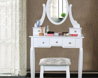 """DRESSING TABLE with mirror ,,queen"""""""
