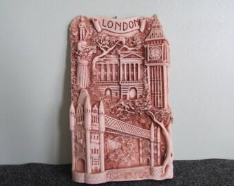 London Art/Thomas Benacci/London Crushed Marble Wall Plaque