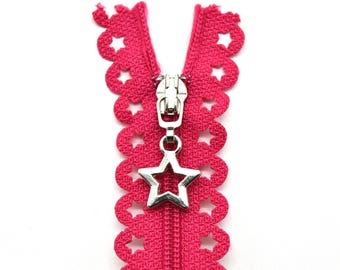 Pink Zipper - 10 Inch Zipper - YKK Zipper - Bag Zipper - Nylon Zipper - Zippers for Bags - Sewing for Children - Sewing Zippers - Zippers