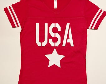 Fourth of July tee/USA tee