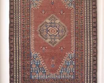 3.11 x 5.9 | MEAD | Vintage Persian Rug