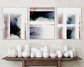 Abstract Wall Art | Etsy