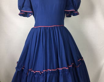 VTG 1960s Patio Swing Dress