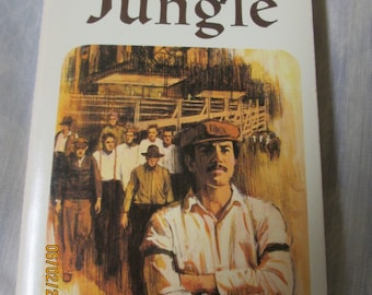 The Jungle by Upton Sinclair- 1965- Airmont Classic- Complete and Unabridged- Classic Series CL86-317 pages