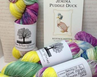 Jemima Puddle Duck 4ply SWM with Nylon