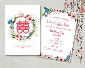 Shop for chinese invitations on Etsy