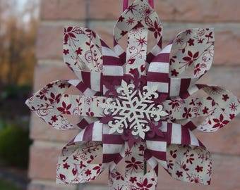 Eight Point Star Ornament #2