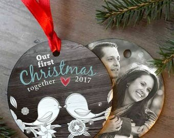 Custom Photo Ornament/Christmas Ornaments/Christmas Gift/Custom Christmas Ornament/Photo Christmas Ornament/Photo Ornament/First Christmas