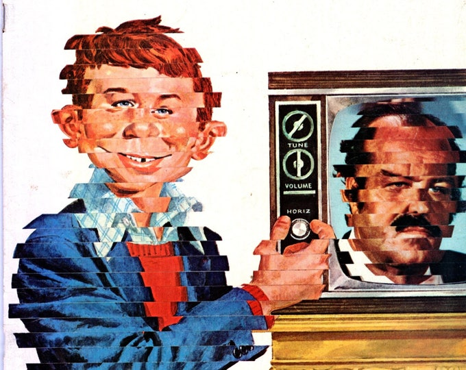 MAD Magazine #160 July 1973 Cannon TV Show Issue