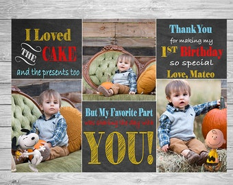 Snoopy Thank You Card - Peanuts Thank You Card