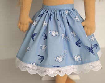 Blue Bird DOLL skirt