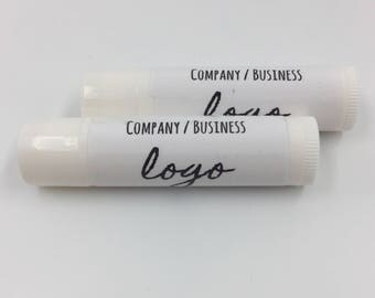 SETS OF 25+ | Lip Balms Personalised with Your Business Logo