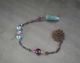 Green Aventurine Crystal Pendulum/ Dowsing Pendulum