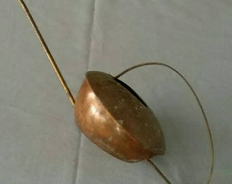 Vintage Copper Long Spout Watering Can for Small Plants