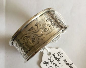 Solid silver made in 1924  no makers mark