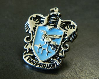 Harry Potter Hogwarts School of Wizardry Ravenclaw House Lapel Pin - Rowena Ravenclaw House Ravenclaw Harry Potter Costume Pins