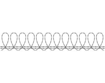 Barbed Wire #13 Circle Razor Barb Fence Fencing Jail Western Protection Security Prison Logo.SVG .EPS .PNG Clipart Vector Cricut Cut Cutting