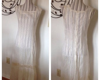 On Sale Beautiful Victorian White Lace Dress