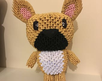 3D Origami Dog
