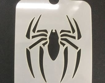 Spider Face Painting stencil 190micron Washable Reusable Mylar
