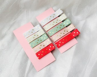 Baby hair clips infant hair clips baby barrettes infant barrettes non slip hair clip alligator hair clip set girl hair clip sets