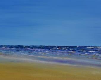 Harlyn Waves, Seascape, Fine art print, Cornwall