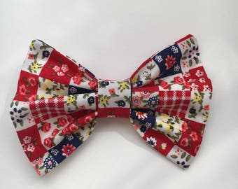 Hair Bow, Alligator Clip Hair Bowv