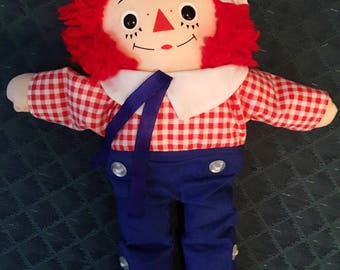 Knickerbocker Toys 1970s Vintage  Raggedy Andy Doll