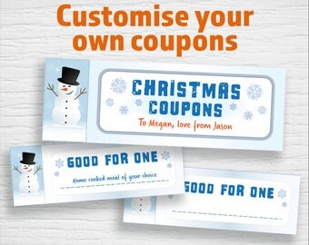 personalised coupons